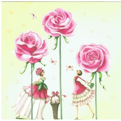 Nina Shen : La Fée aux Roses