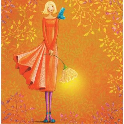Mila Marquis : La Fée et le Papillon bleu sur l'épaule