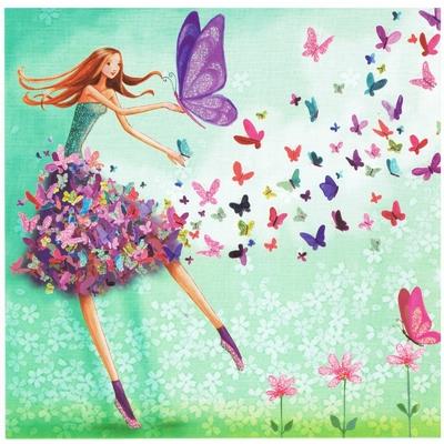 Mila Marquis : Femme en Jupe Papillons