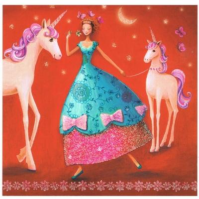Mila Marquis : Femme et les Licornes
