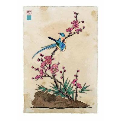 Bug Art : Deux Oiseaux Bleus