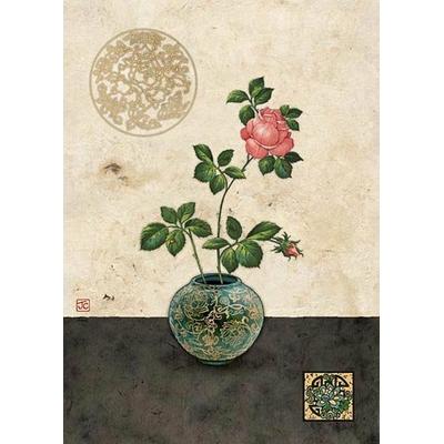 Bug Art : Rose dans un Vase