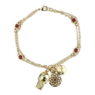 "Bracelet Charms Swarovski Kimmidoll Tatsumi ""puissance"""