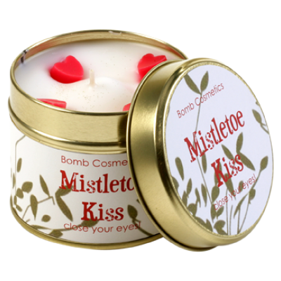 Bougie Art Déco Mistletoe Kiss