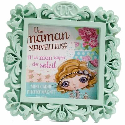"VERITY ROSE Mini Cadre Photo ""Une Maman Merveilleuse"" Miss Cupcake"