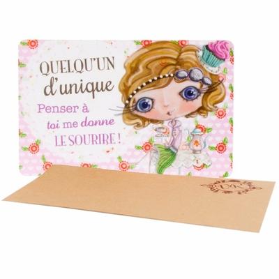 """VERITY ROSE Carte Cadeau """"Quelqu'un d'unique"""", Miss Cupcake"""