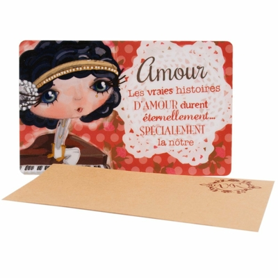 "VERITY ROSE Carte Cadeau ""Amour"", Miss Starlet"