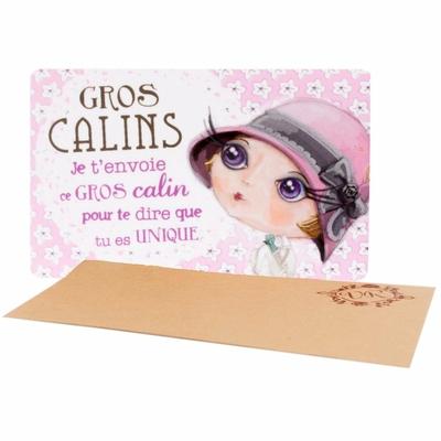 """VERITY ROSE Carte Cadeau """"Gros Calins"""", Miss Moonstruck"""