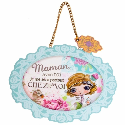 "VERITY ROSE Plaque à suspendre : ""Maman"", Miss Cupcake"