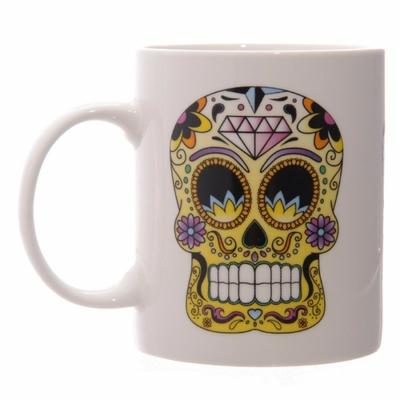 Mug Jour Des Morts Mexicains en couleur