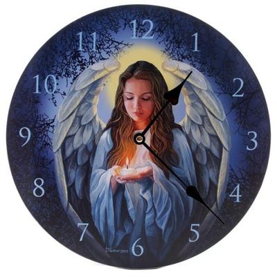 Horloge Ange Par Lisa Parker