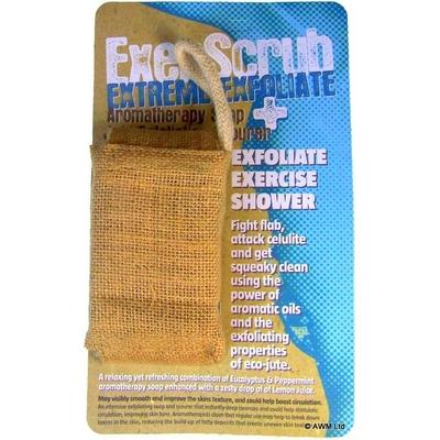 Gant exfoliant et savon aromathérapie Fraicheur Extrême