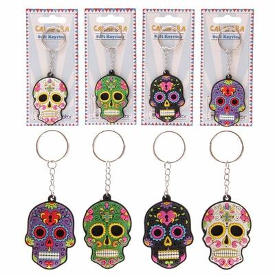 Porte-clés jour des morts mexicains