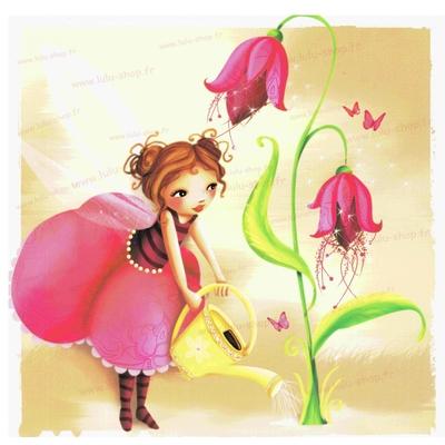 Carte Postale : Jardin magique...
