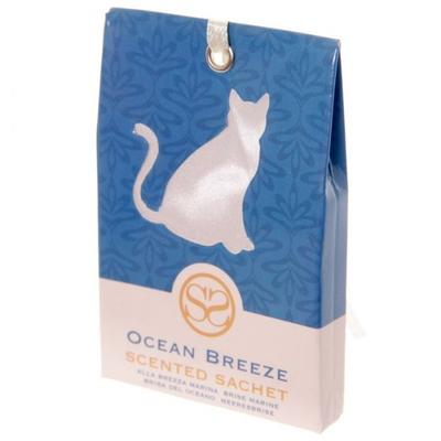 Sachets parfumés brise marine - Motif Chat