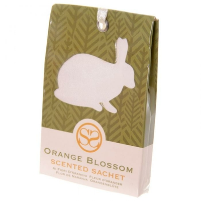 Sachets parfumés à la fleur d'oranger - Motif Lapin