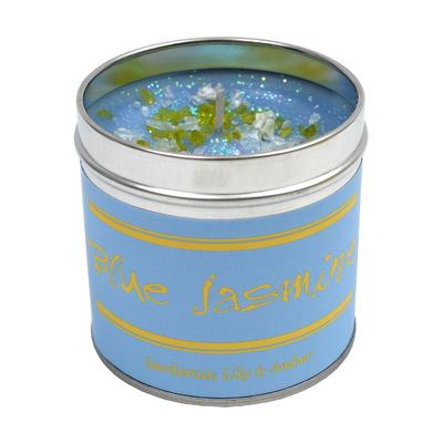 """Bougie """"Flowery"""" Blue Jasmin"""