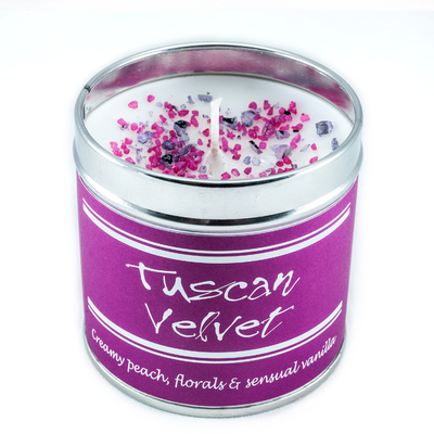 """Bougie """"Flowery"""" Tuscan Velvet"""