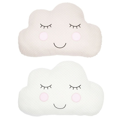 "Lot de 2 Coussins ""Nuage"" Sweet Dreams"