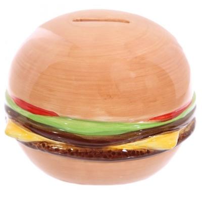 Tirelire Burger Design Fast Food
