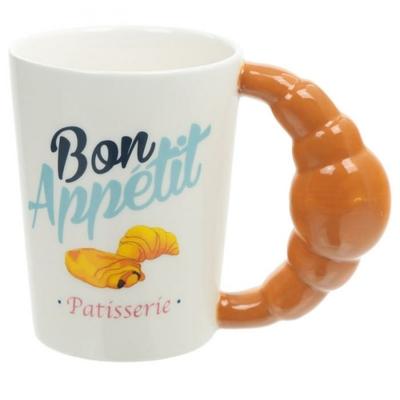 Mug pâtisserie : Bon Appétit  - Croissant