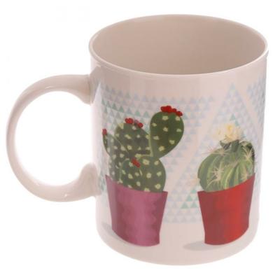 Mug porcelaine Cactus