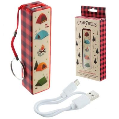 Porte-clé Chargeur USB Portable - Camping Voyages & Vacances
