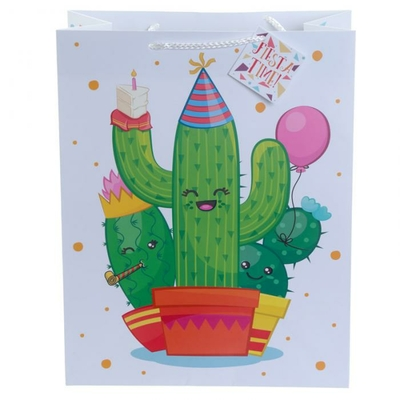 Sac Cadeau Cactus - Large