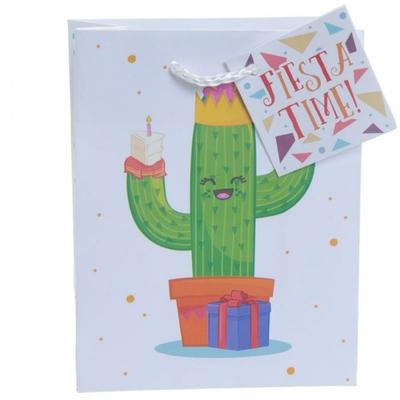 Sac Cadeau Cactus - Petit
