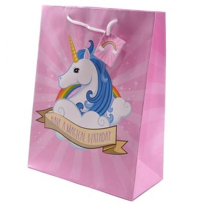 Sac Cadeau Licorne - Large