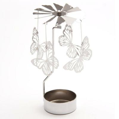 Manège à bougie - Papillons