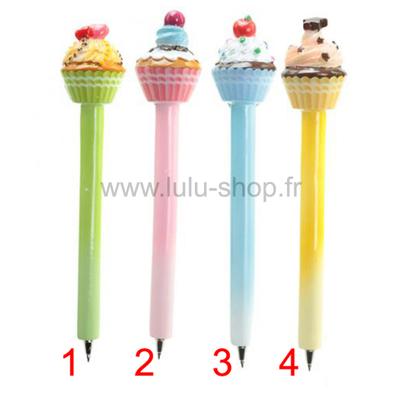 Stylo Cupcake