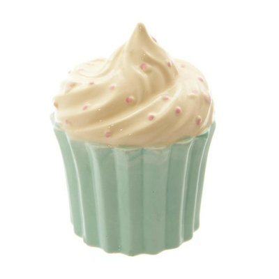 Tirelire Gâteaux Anglais vert