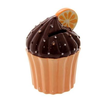 Tirelire Gâteaux Anglais orange
