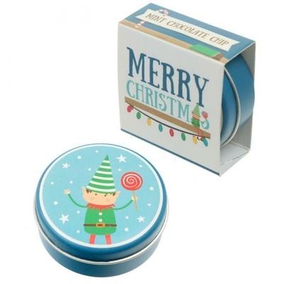 Baume à lèvres de Noël Menthe Chocolat