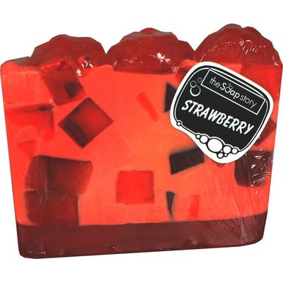 Tranche de savon fraise
