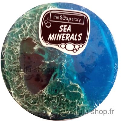 Savon loofah minéraux de mer
