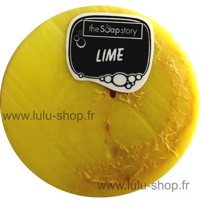 Savon loofah citron