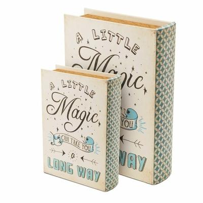 """Boîte cadeau en forme de livre """" Magic"""""""
