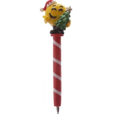 Stylo de Noël : Emoticone sapin de Noël