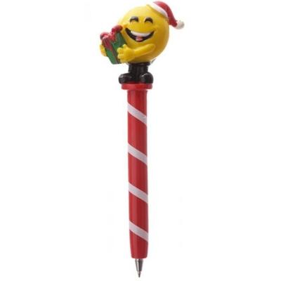Stylo de Noël : Emoticone Cadeau de Noël