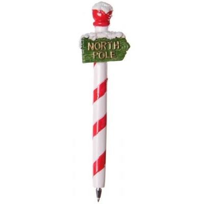 Stylo de Noël : Pôle Nord