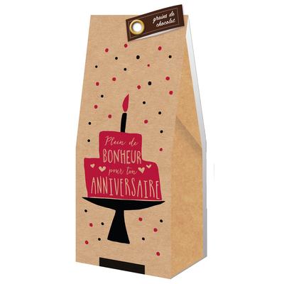 Ballotin Grains de Chocolat : Plein de bonheur pour ton anniversaire