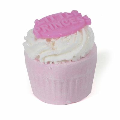 "Muffin de Bain effervescent parfum : Pêche ""Petite Princesse"""