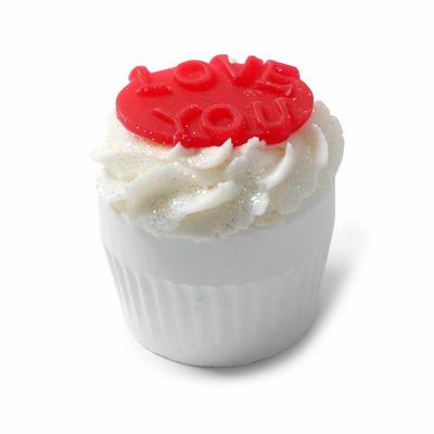 Muffin de Bain effervescent pour dire : Je t'aime
