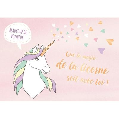 Beaucoup de Bonheur Que la magie de la licorne soit avec toi !