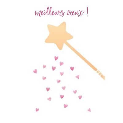 Carte Postale Bonne Année : Meilleurs Vœux