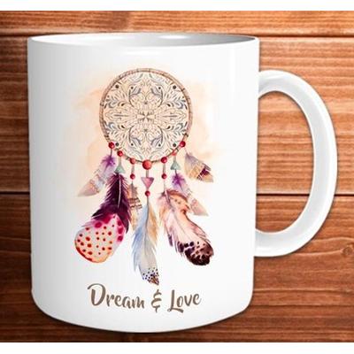 """Mug """"Art de Vivre"""" : Dream and love"""
