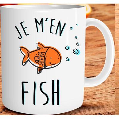 """Mug """"Art de Vivre"""" : Je m'en fish"""