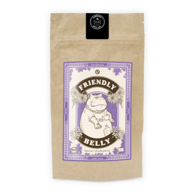 """Infusion aux Fines Herbes : """"Ventre amical"""" (Friendly belly)"""